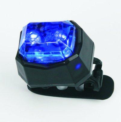 Svetlána bicykelvýstražné - Modré LED