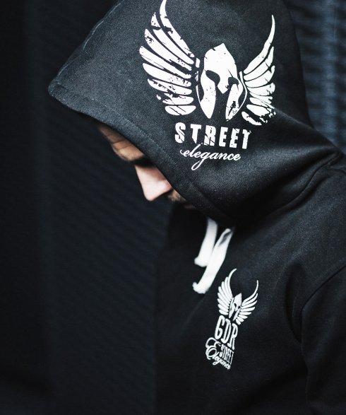 Gladiator Mikina Street elegance - Čierna