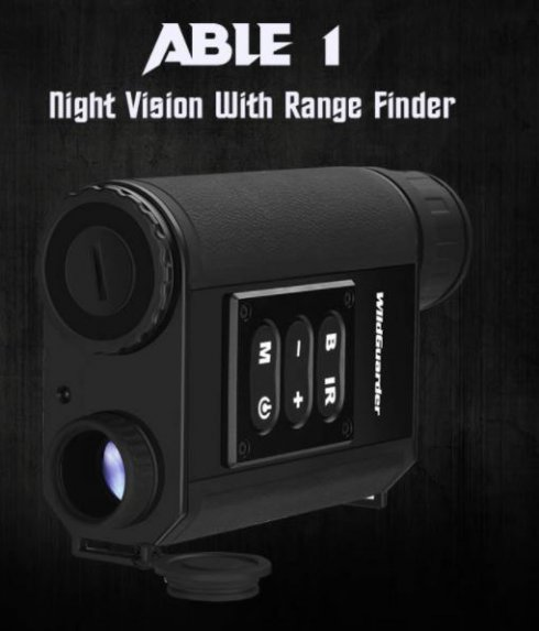 Monokulär - Nattsyn upp till 200 meter - 6x optisk kikare + 4x digital zoom