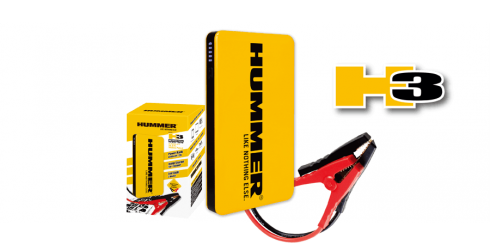 Mini jump starter  + external battery Hummer H3 6000mAh for engines up to 3,5L petrol / 2,0L diesel