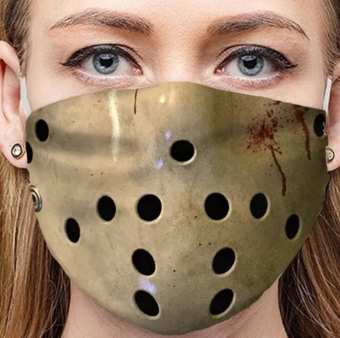 JASON VOORHEES - protective face mask 100% polyester