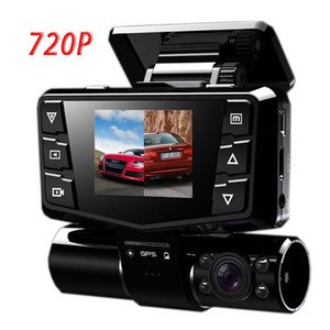 Car video camera H7000 with 8 IR LED + Dual Lens