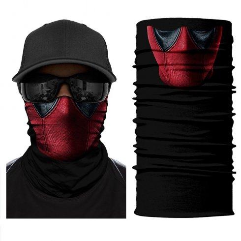 DEADPOOLバンダナ-顔や頭に多機能のスカーフ