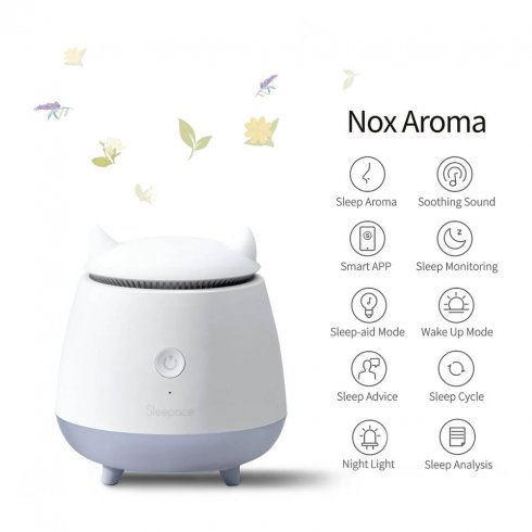 Aroma lamp - NOX with Bluetooth and diffuser