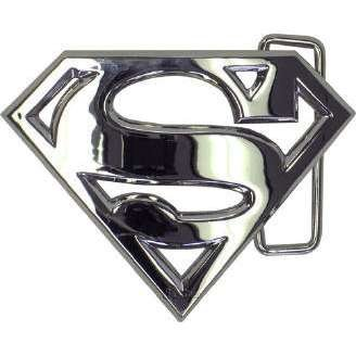Superman silver - belt buckle