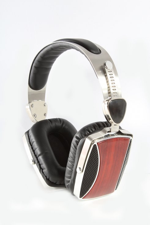 Auriculares exclusivos de madera ESMOOTH ES-665CR