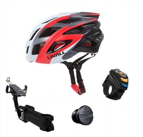 Bike Smart Set - Intelligent helmet + adapter + speed sensor