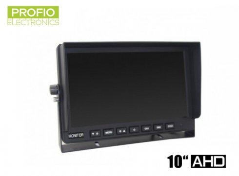 """AHD LCD monitor do auta 10,1"""" + 3 AV vstupy"""