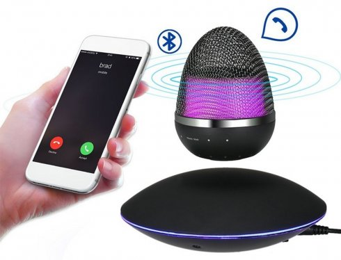 Levitating (floating) speaker360°- 5W with bluetooth support