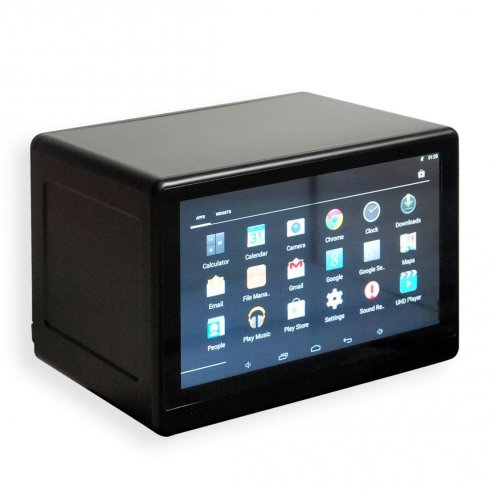 "Transparent 10,1"" LCD showcase with touch screen + WiFi + Bluetooth"