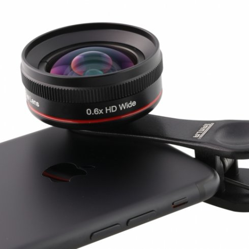 Obiettivo grandangolare universale 0.6X per telefoni cellulari