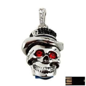 USB Jewel - Skull
