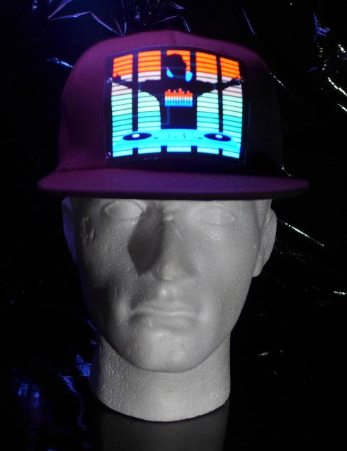 Light up cap - DJ Equalizer