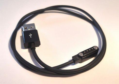 Nadomestni polnilni magnetni kabel USB (63 cm) za GPS lokator