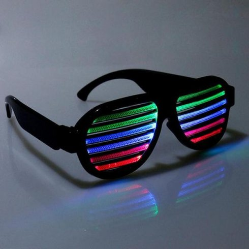 LED light glasses - flashing according to music