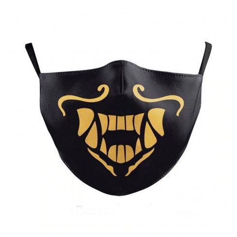 Rúško na tvár s vrecúškom - 100% polyester SAMURAJ