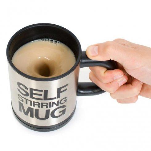 Tazza autoagitante - tazza da caffè con miscelazione automatica (magnetica)