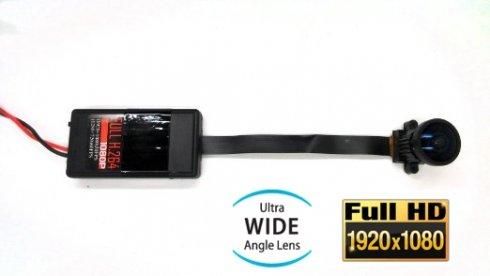 Pinhole Full HD 185 ° halszem objektív