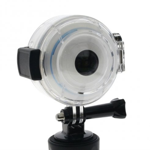 Waterproof cover for panoramic camera