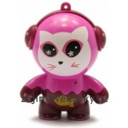 Speakers for MP3 - Pink Cat