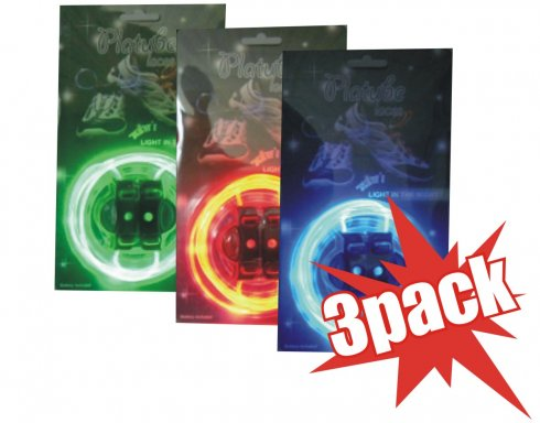 3xPack LED shoelaces at a good price