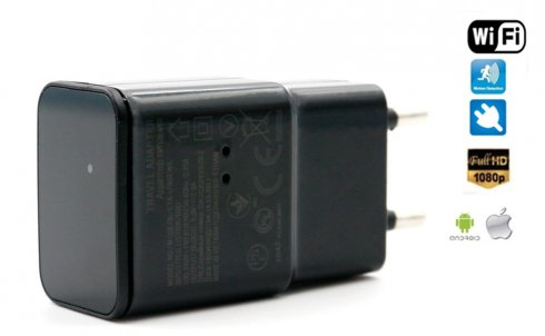 Adapter USB z ukrytą kamerą Full HD Wi-Fi