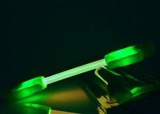 Světlo na kolo LED SuperFlare - Zelená