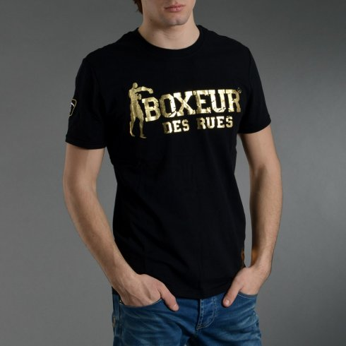 T-shirt Fighter black - Boxeur des Rues