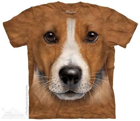 Chemise en batik 3D - jack russel terrier