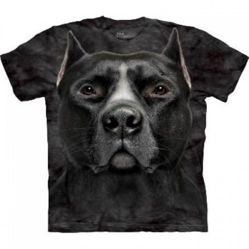 Animal twarz t-shirt - Pitbull