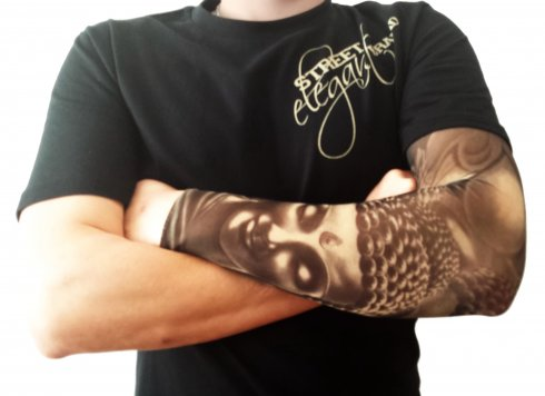 Tattoo sleeves - Budha