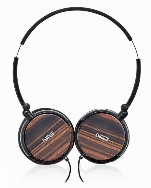 Ebony headphones ESMOOTH ES-620EB