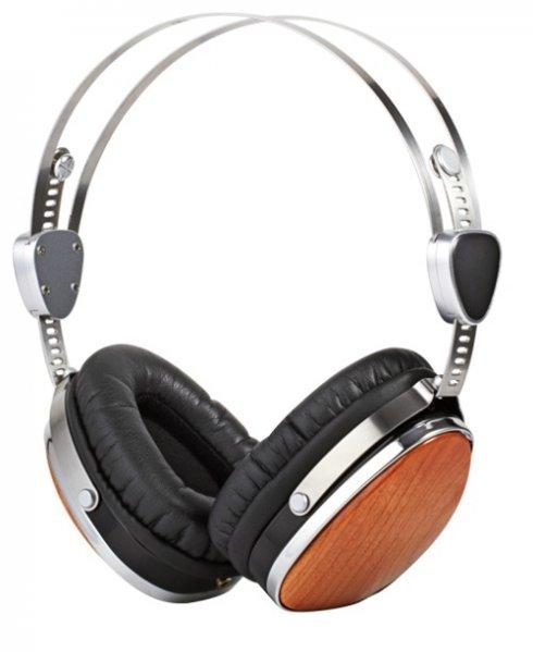 Eleganckie drewniane słuchawki ESMOOTH ES-660CR
