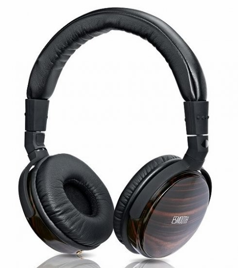 Ebony headphones ESMOOTH ES-860EB