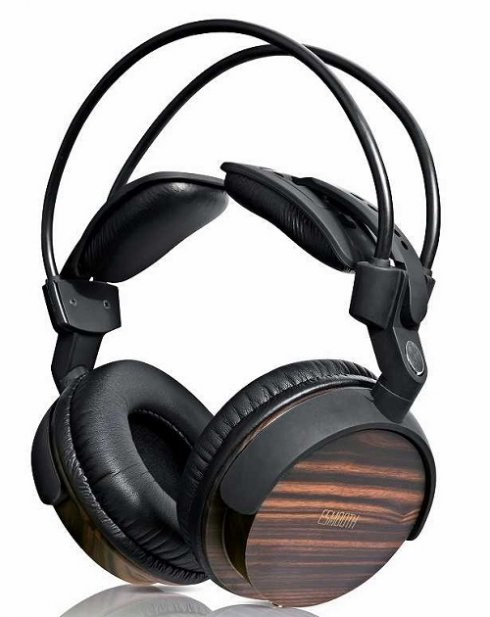 Wooden headphones ESMOOTH ES-880EB