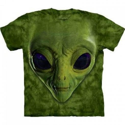 Hi-tech camiseta fresca - Alien