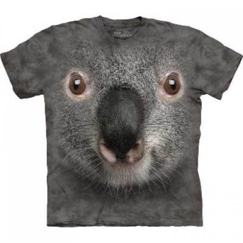 Animal face t-shirt - Koala