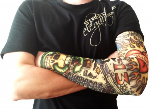 Tattoo sleeves - Old Skull