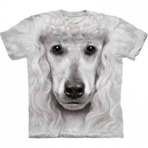 Animal face t-shirt - Poodle