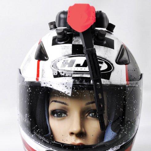 Universal helmet wiper