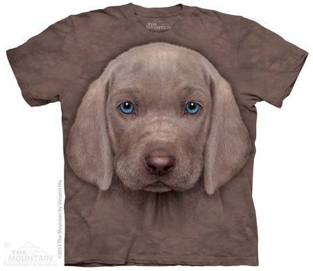 Hallo-Tech-Tier-Hemd - Weimaraner