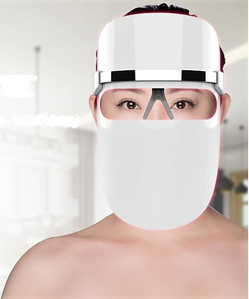 Face mask - LED technology PHOTO REJUVENATION for skin regeneration and rejuvenation