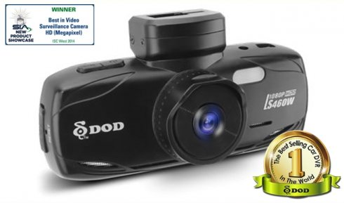 DOD LS460W TOP Car camera with GPS