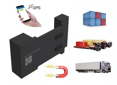 GPS tracking device - container tracker with 3800mAh battery + IP66