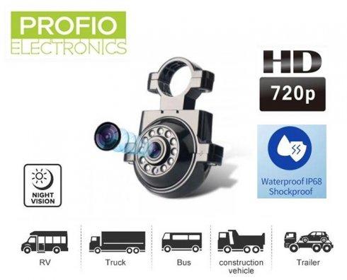 Parkovacia kamera s konzolou pre uchytenie s HD+ 11 IR LED + (IP68 krytie)