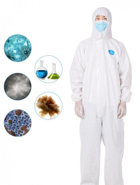 防護服-全身使い捨てカバーオール