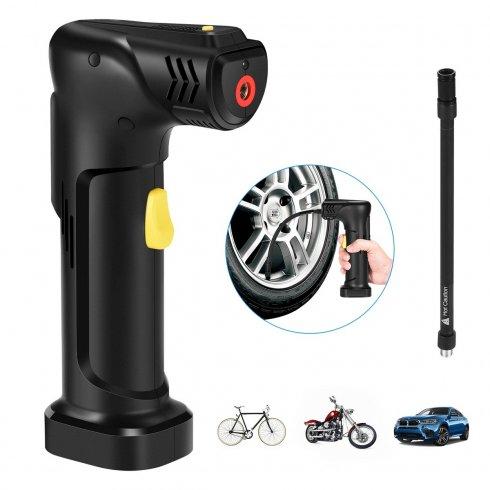 Univerzálna USB smart pumpa - auto, bicykel, nafukovačka+ LED svietidlo + Powerbank