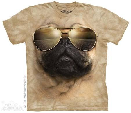 Эко T-Shirt - Aviator мопс