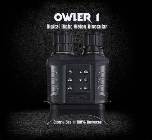 Ψηφιακά κιάλια νυχτερινής όρασης έως 500m / 3000m ημέρα - 20x οπτικό + 4x ψηφιακό ζουμ με κάμερα