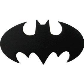 Бэтмен черный - пряжка